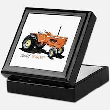 Antique Tractors Keepsake Box