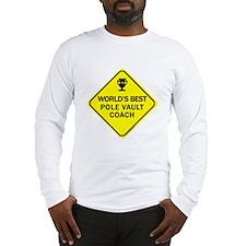 Pole Vault Coach Long Sleeve T-Shirt