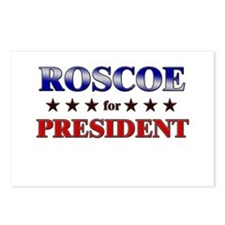 ROSCOE for president Postcards (Package of 8)