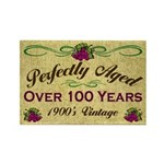 Over 100 Years Rectangle Magnet (100 pack)