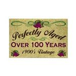 Over 100 Years Rectangle Magnet