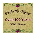 Over 100 Years Tile Coaster