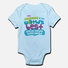 Social Media Specialist Gift for K Infant Bodysuit