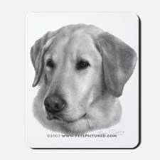 Sam, Labrador Retriever Mousepad