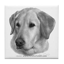 Sam, Labrador Retriever Tile Coaster