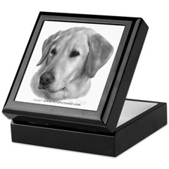 Sam, Labrador Retriever Keepsake Box