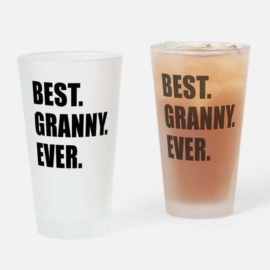 Best Granny Ever Drinkware Drinking Glass