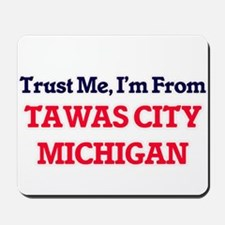 Trust Me, I'm from Tawas City Michigan Mousepad