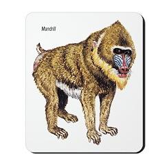 Mandrill Monkey Mousepad