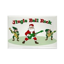Jingle Bell Rock Rectangle Magnet