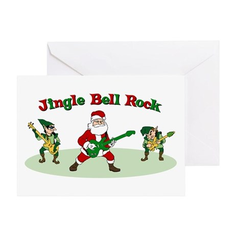 Jingle Bell Rock Greeting Card