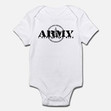 Army - I Support My Wife Infant Bodysuit