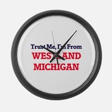 Trust Me, I'm from Westland Michi Large Wall Clock