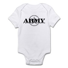 Army - I Support My Uncle Infant Bodysuit