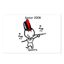 Flute - Quatro Postcards (Package of 8)