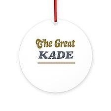 Kade Ornament (Round)