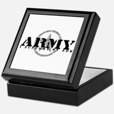 Army - I Support My Son Tile Box