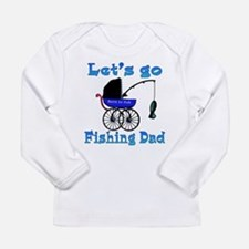 Lets go fishing buggy Long Sleeve T-Shirt