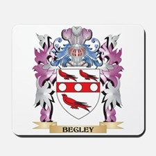 Begley Coat of Arms (Family Crest) Mousepad