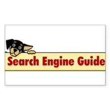 Search Engine Guide Rectangle Decal