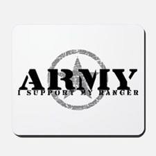 Army - I Support My Ranger Mousepad