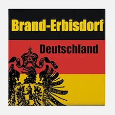 Brand-Erbisdorf Tile Coaster