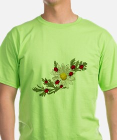 Ladybug and Flower T-Shirt