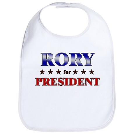 RORY for president Bib