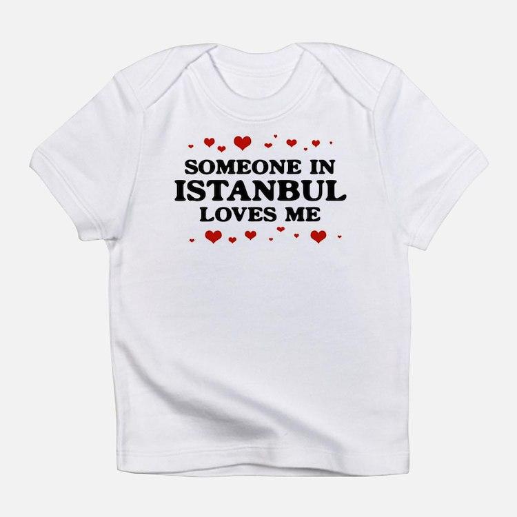 Cute Istanbul Infant T-Shirt
