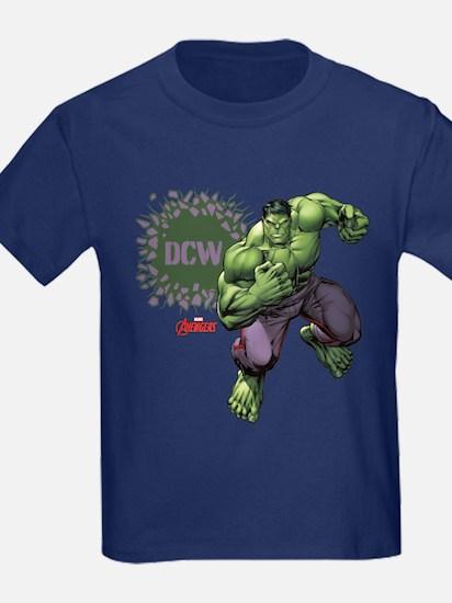 Hulk Monogram Personalized T