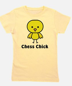 Unique Chess Girl's Tee