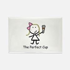 Coffee - Perfect Cup Rectangle Magnet