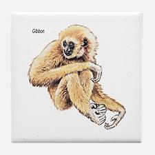 Gibbon Ape Tile Coaster