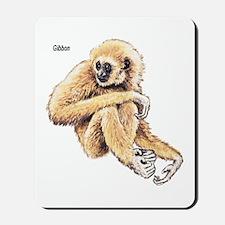 Gibbon Ape Mousepad