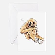 Gibbon Ape Greeting Cards (Pk of 10)