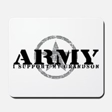 Army - I Support My Granson Mousepad