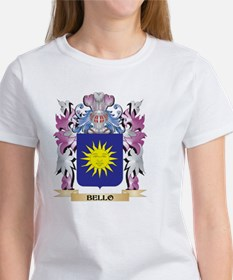 Bello Coat of Arms (Family Crest) T-Shirt