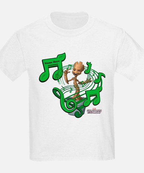 GOTG Personalized Musical Groot T-Shirt