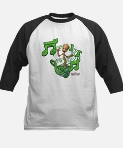 GOTG Personalized Musical Gro Kids Baseball Jersey