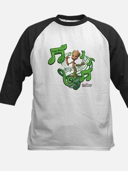GOTG Personalized Musical Gro Kids Baseball Jersey