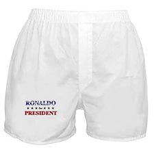 RONALDO for president Boxer Shorts