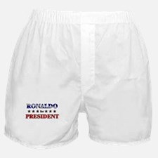 RONALDO for president Boxer Shorts