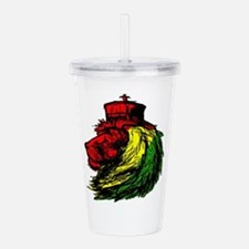 Lion of Zion Acrylic Double-wall Tumbler