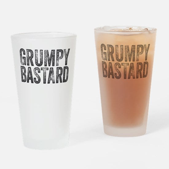 Grumpy Bastard Drinking Glass