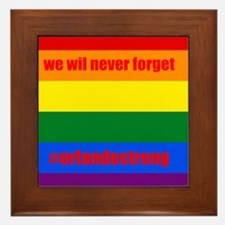Cute Lbgt Framed Tile