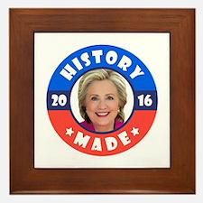 History Made Framed Tile