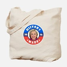 History Made Tote Bag