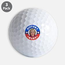 History Made Golf Ball