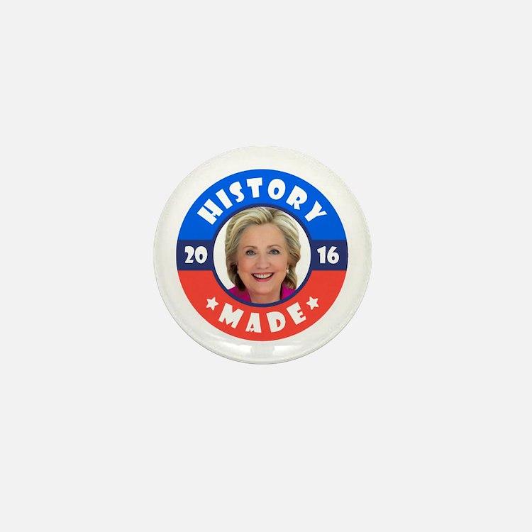 History Made Mini Button