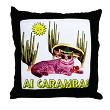 Ai caramba! Throw Pillow
